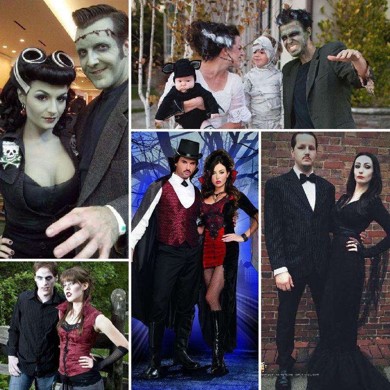 Disfraces geniales para Halloween en pareja Halloween