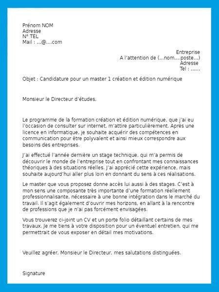 lettre de motivation   1000 mod u00e8les gratuits de lettres