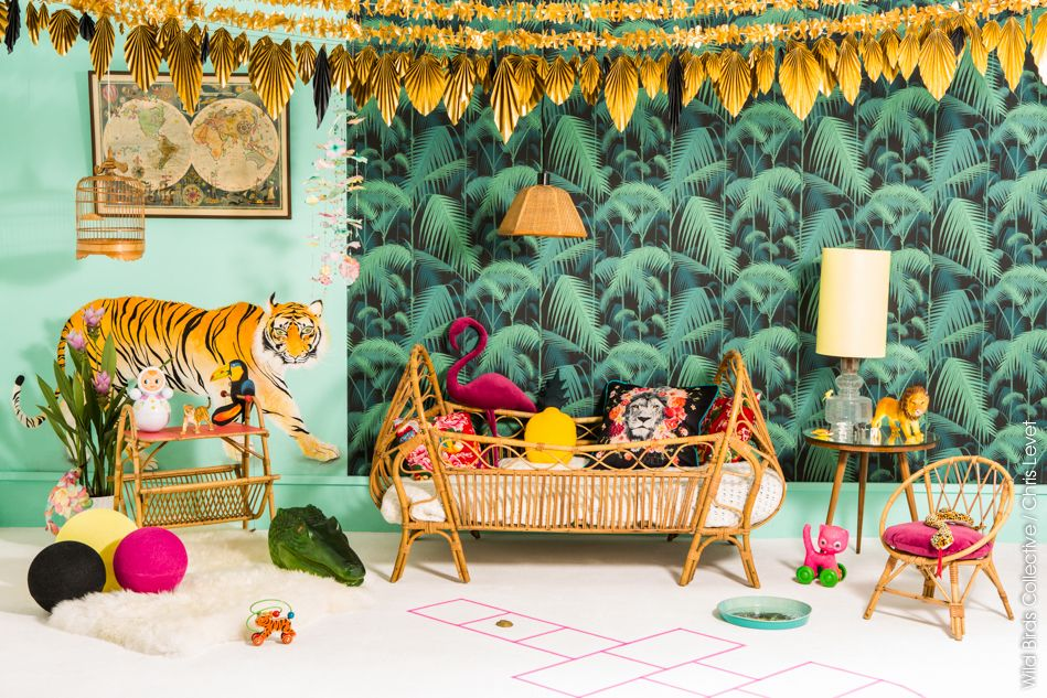 Jungle Deco Tropicale 3 Tropical Kid S Room Pinterest Room