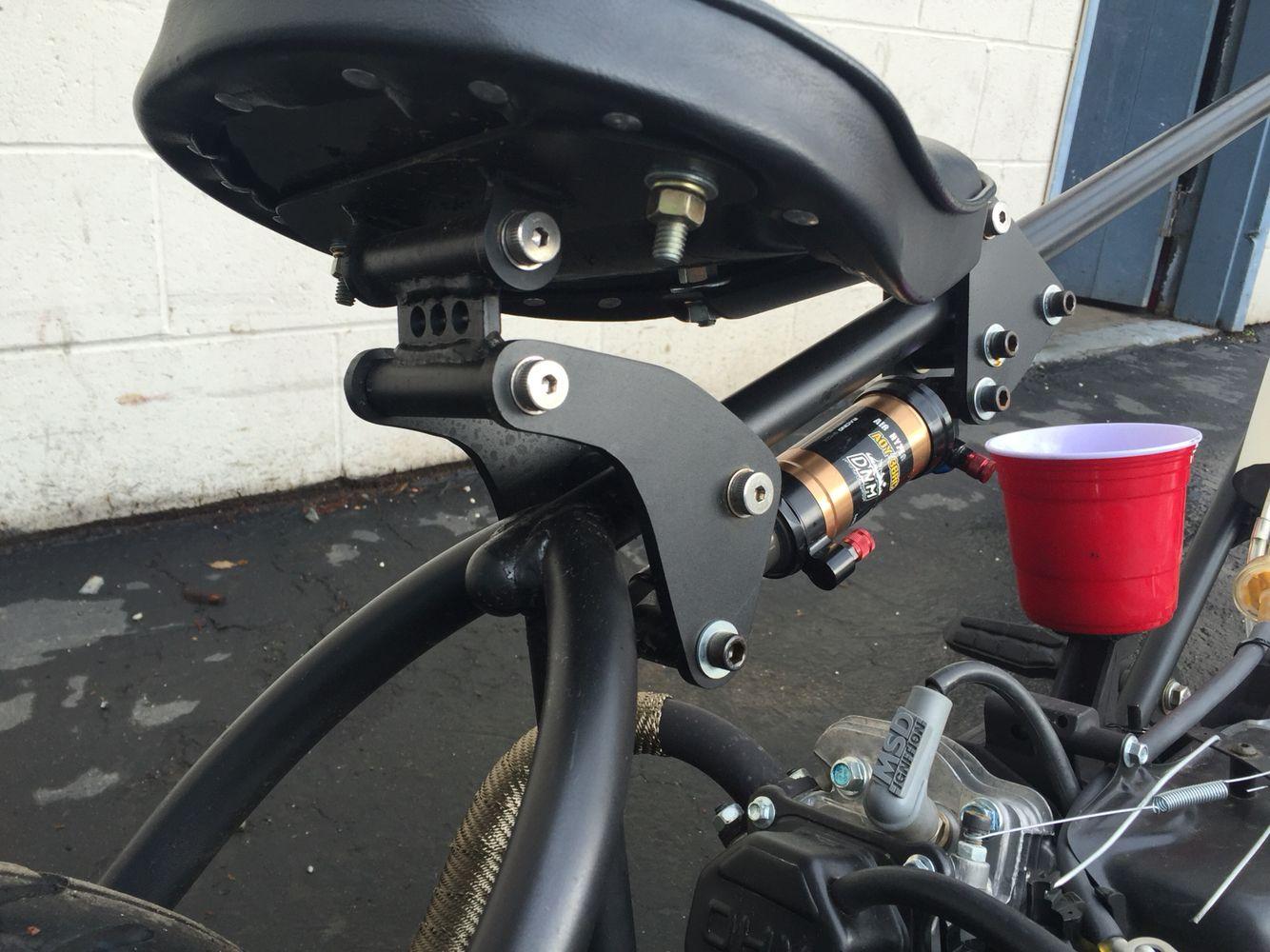 Mini bike chopper seat