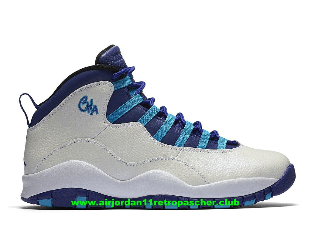 best website f4eee d2330 where to buy chausssures de basketball air jordan x 10 retro charlotte prix  homme pas cher