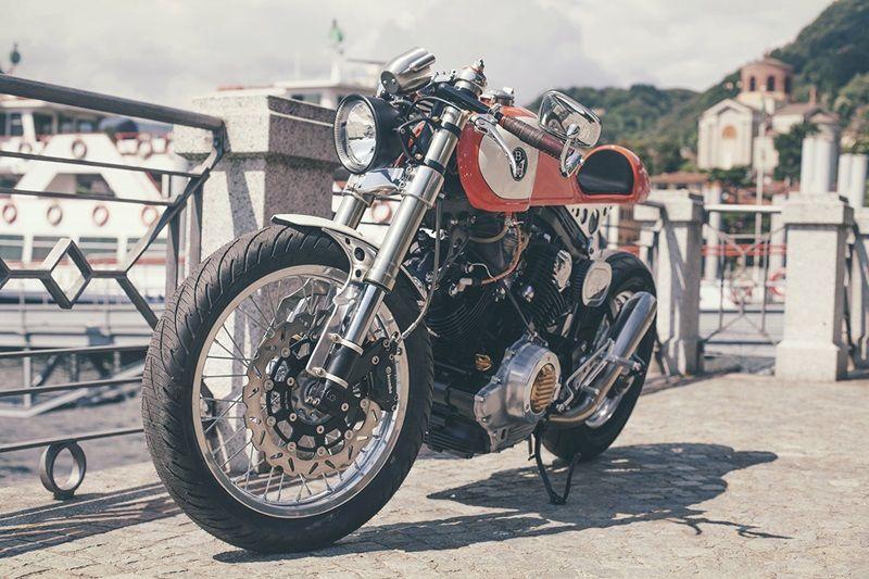 zhigelev:  Yamaha XV750 Orange Crush