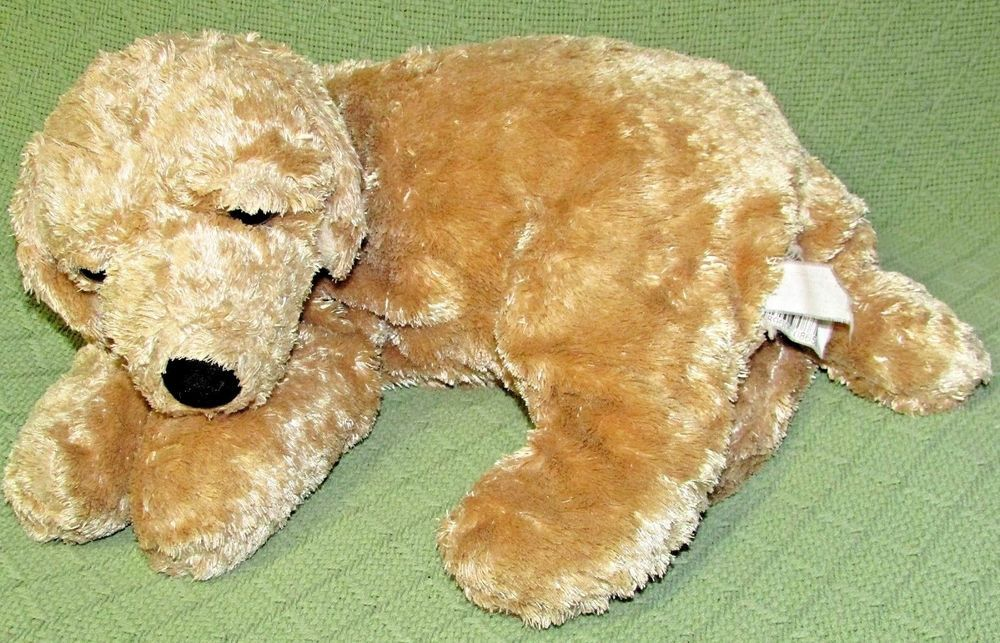 Kmart Dog Yellow Lab Golden Retriever Plush Floppy Puppy Stuffed Animal 16 Long Pet Puppy Animals Plush Stuffed Animals