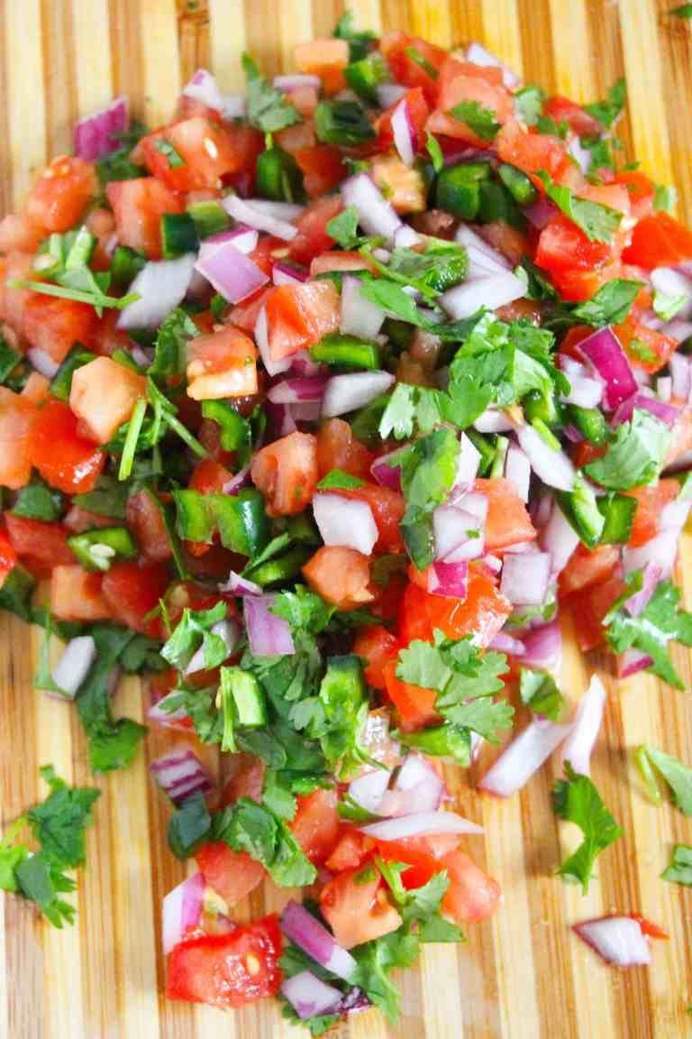 Easy Homemade Pico de Gallo Recipe