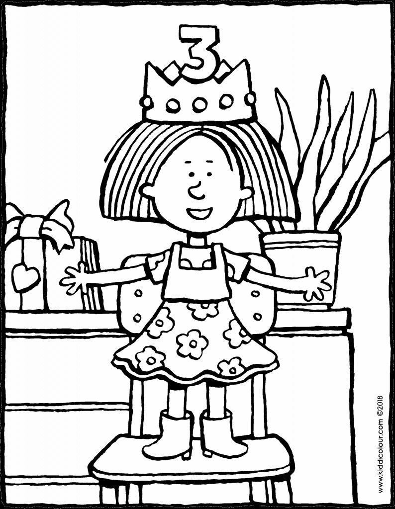 Pin Auf Birthday Coloring Pages