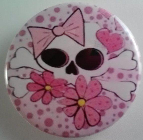 10 POCKET MIRRORS  Fairy   Skull  Free 1st Class by kathyshandmade, $20.00
