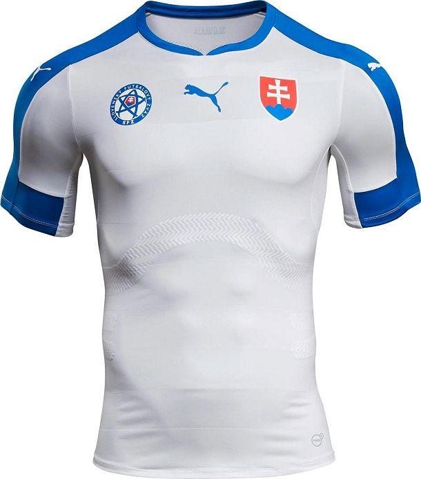 9c85fe1c153cb Puma apresenta nova camisa titular da Eslováquia - Show de Camisas ...