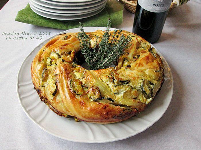 Angelica alle Zucchine Lievitato Appetitoso|La cucina di ASI