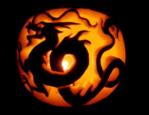 Best cool creative scary halloween pumpkin carving