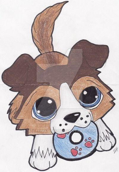 Teh Lps Frisbee Dog By Boltonartist On Deviantart Lps Drawings