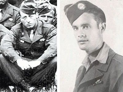 """Farewell brothers ..... Edward James """"Babe"""" Heffron (left) and Earl """"One Lung"""" McClung, members of Easy Company, 506th Parachute Infantry Regiment, 101st Airborne Division, passed away Sunday and Nov. 24 (2013), respectively. Both men were 90 years old. The two Veterans were a part of the famed Band of Brothers that fought in some of the most intense battles of World War II."""