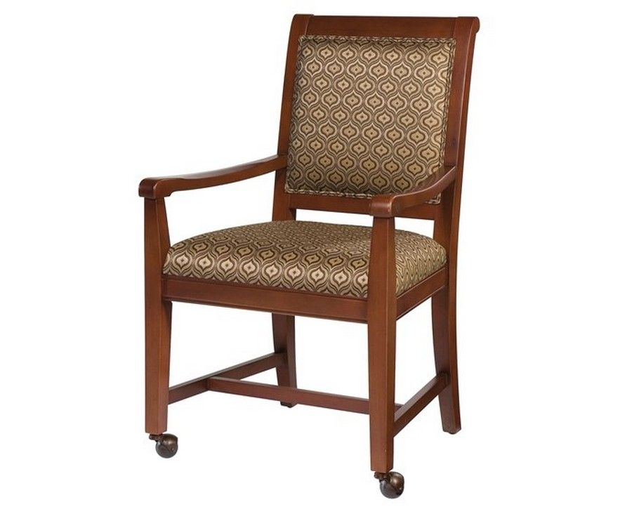 Dining Chair With Front Casters Famous Chair Designs Dining