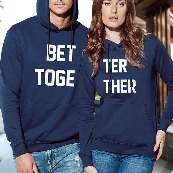 pärchen hoodies / couple sweatshirts/ his and hers hoodies / Love arrow couple / couples matching set / mr and mrs crXh7