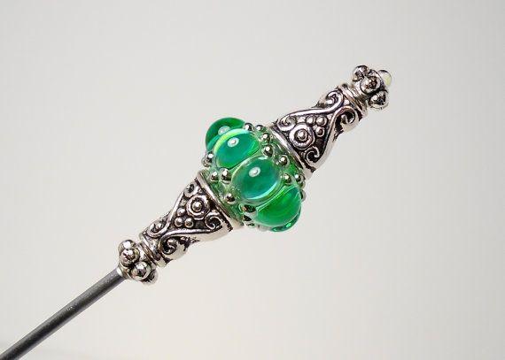 Vintage Antique Art Deco Green Glass Drawer Pulls ET301 Single Pull 30/% OFF