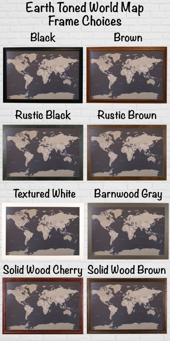 Canvas personalized earth toned world travel map push pin travel canvas personalized earth toned world travel map push pin travel map canvas world map 2nd anniversary gift cotton anniversary kitchen decor gumiabroncs Choice Image