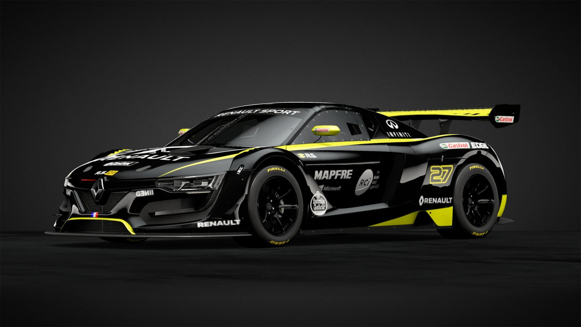 Renault RS 01 Renault F1 Team Car Livery by oOMadMax