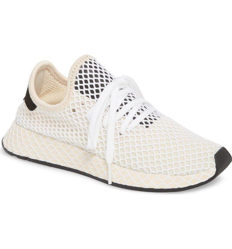 new style 49bed 34ad4 Deerupt Runner Sneaker, Main, color, Linen Linen Ecru Tint