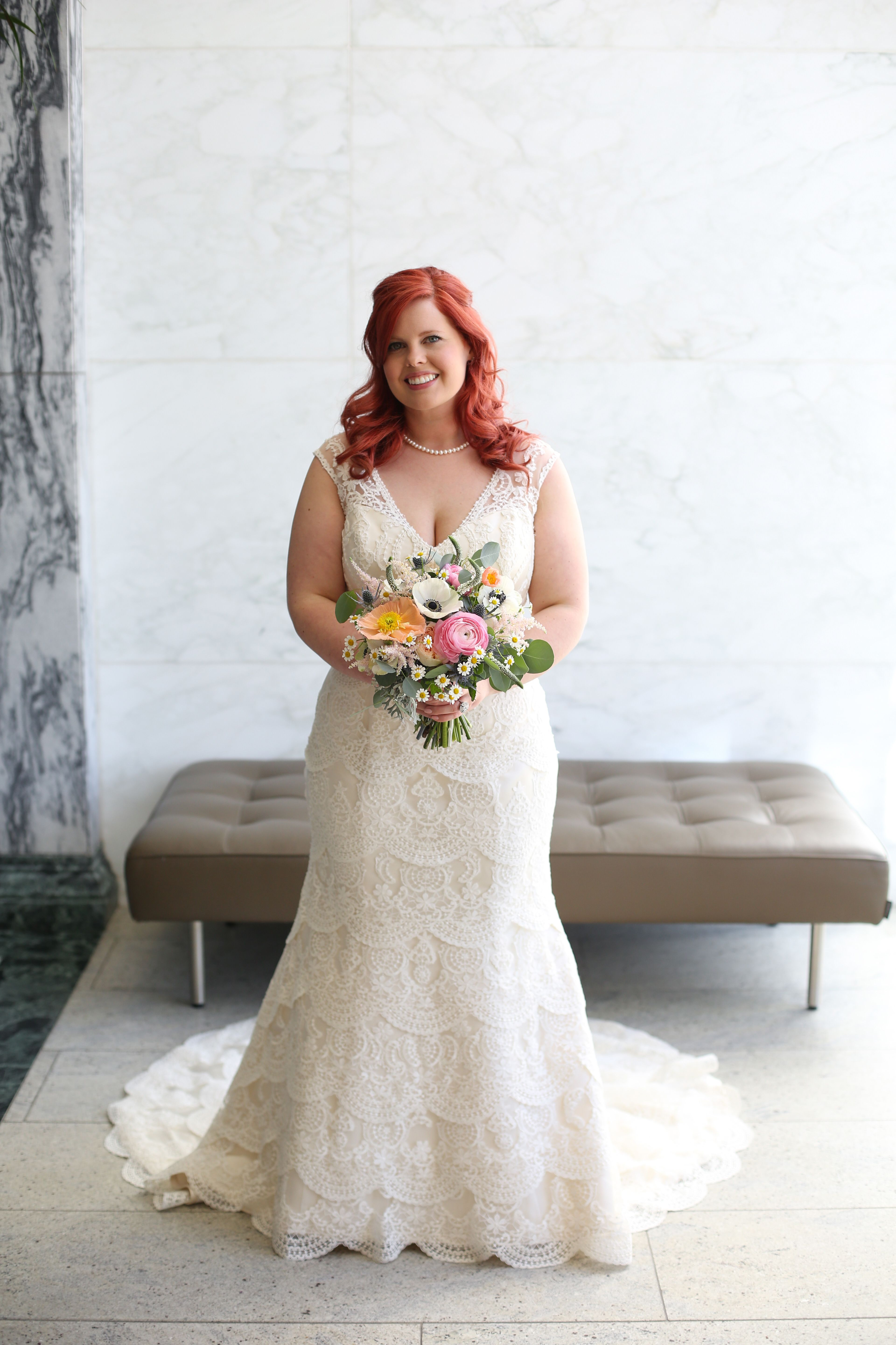 The beautiful bridal bouquet that I carried on my wedding day. The ...