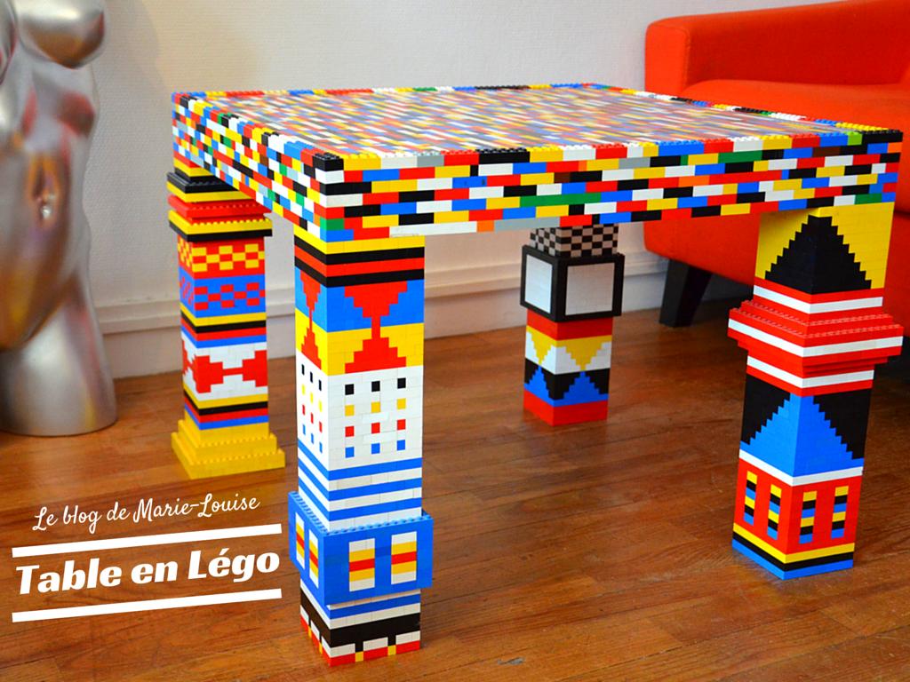 Les meubles 100% Légo | Lego and Legos