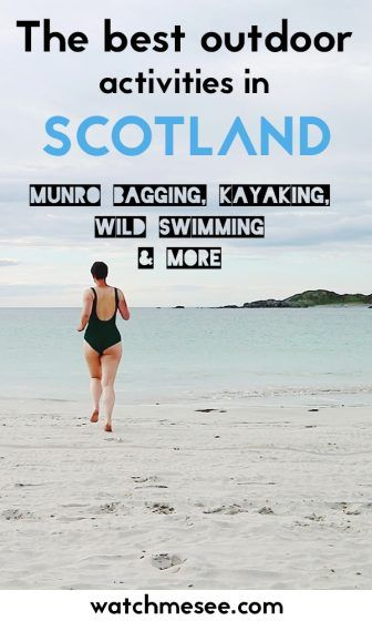 18 Fun Outdoor Activities in Scotland You Must Try -   18 holiday Activities list ideas