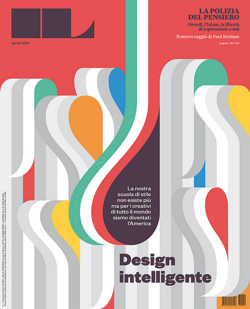 Francesco Franchi lives and works in Milan, Italy, where I also happen to live and work. I've followed his work for a while and would argue he's an individual/designer with a truly original and significant voice in the world of editorial graphic design.