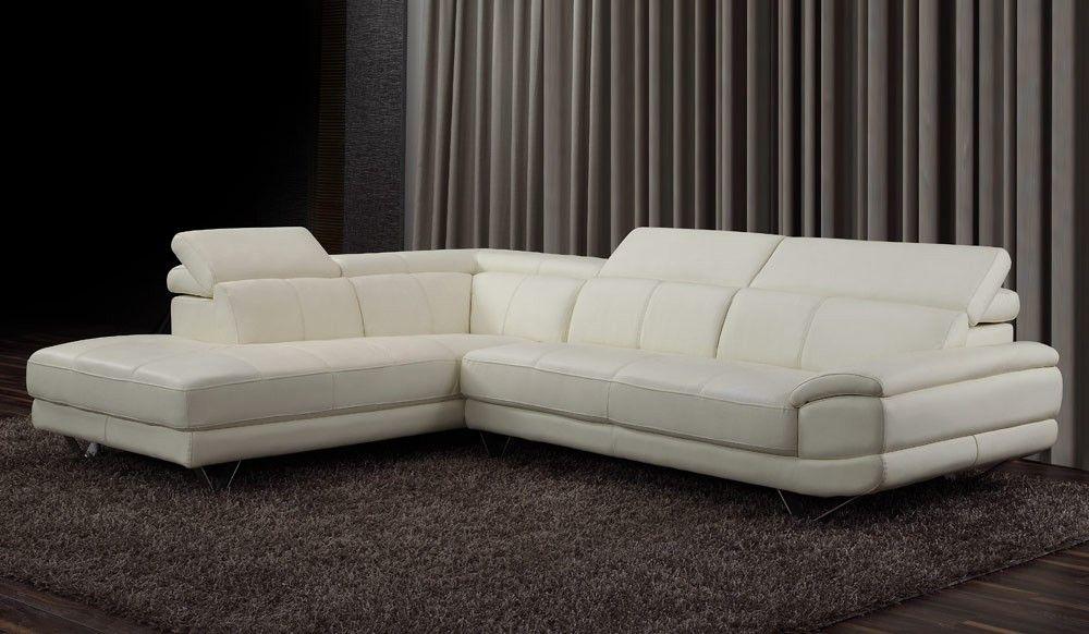 Lazio Leather Corner Sofa With Adjustable Headrest Leather Corner Sofa Corner Sofa Top Grain Leather Sofa