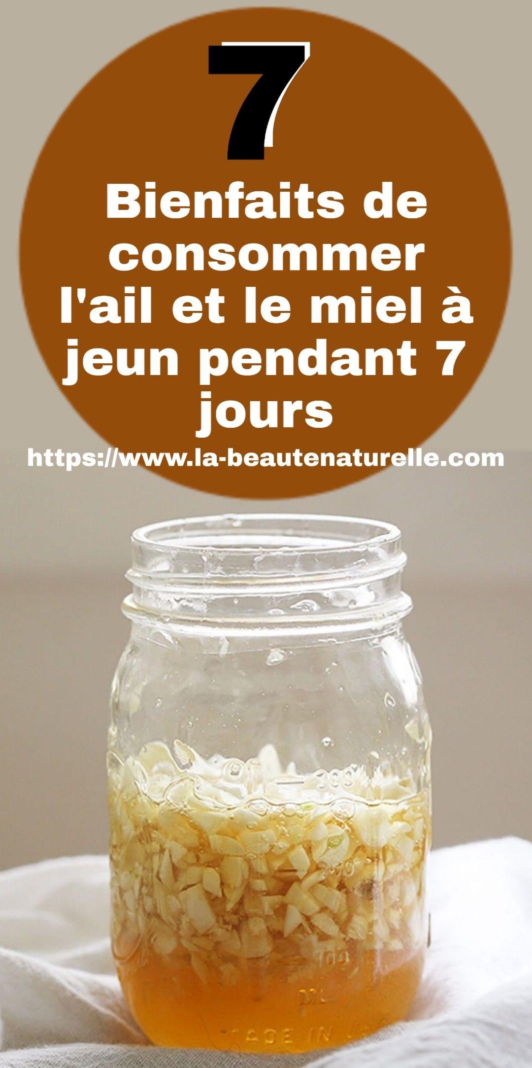 7 Bienfaits de consommer l'ail et le miel à jeun pendant 7