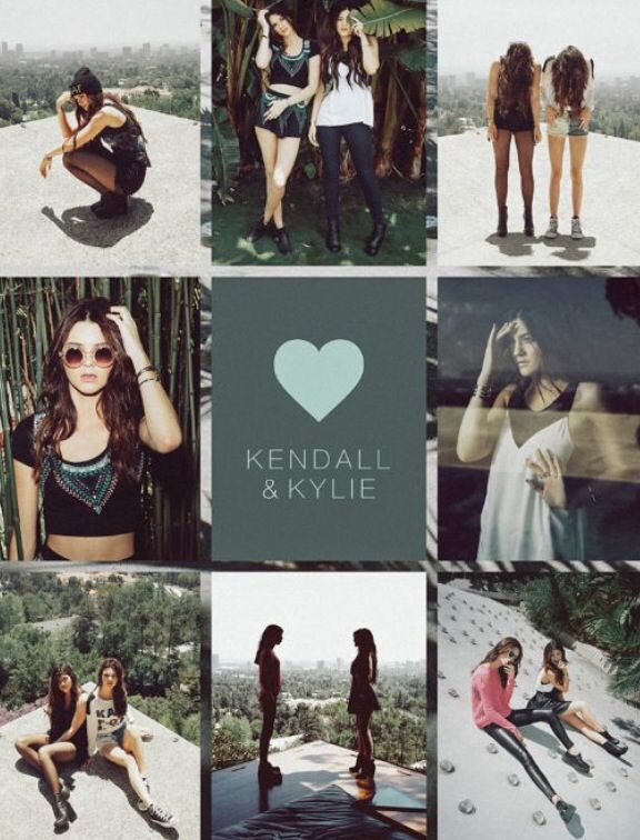Kendall and Kylie pacsun