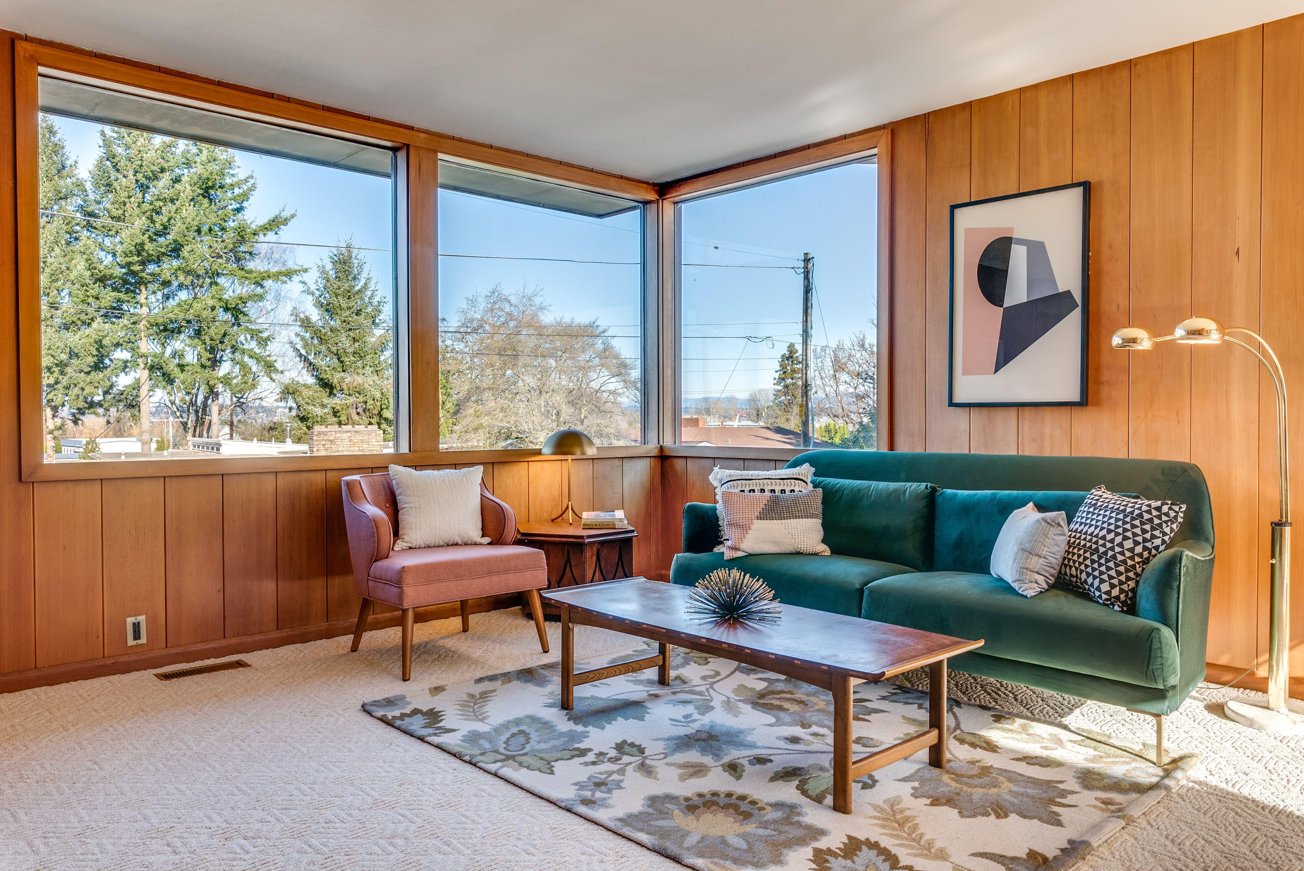 Peek Inside This Frank Lloyd WrightInspired Portland Home