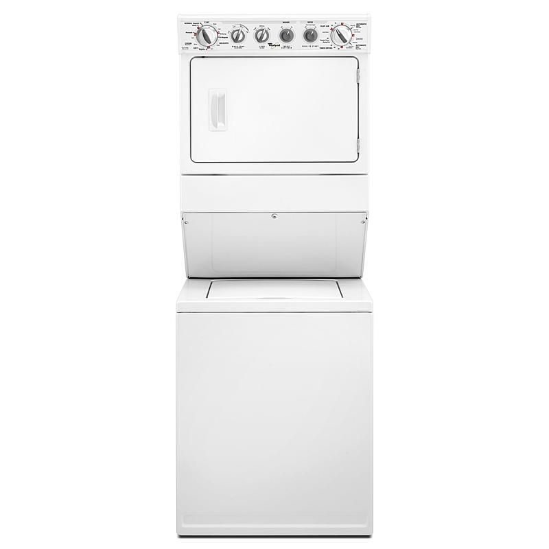Whirlpool Wgt3300xq 27 Stacked Laundry Center W Gas Dryer