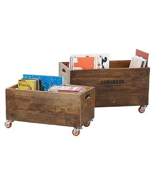 Kids Storage Pieces Fit For Adult Spaces Crate Storage Rolling Storage Baby Nursery Storage
