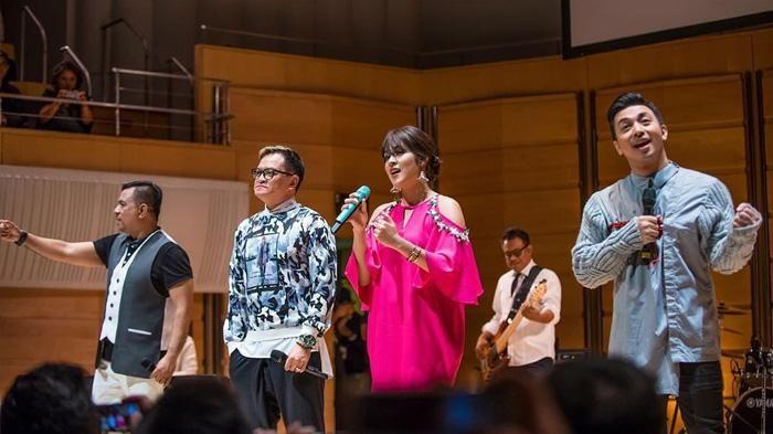 Konser Bareng Kahitna dan Sukses Bikin Baper Penonton, Tak Disangka Raisa Curhat Soal Putus Cinta