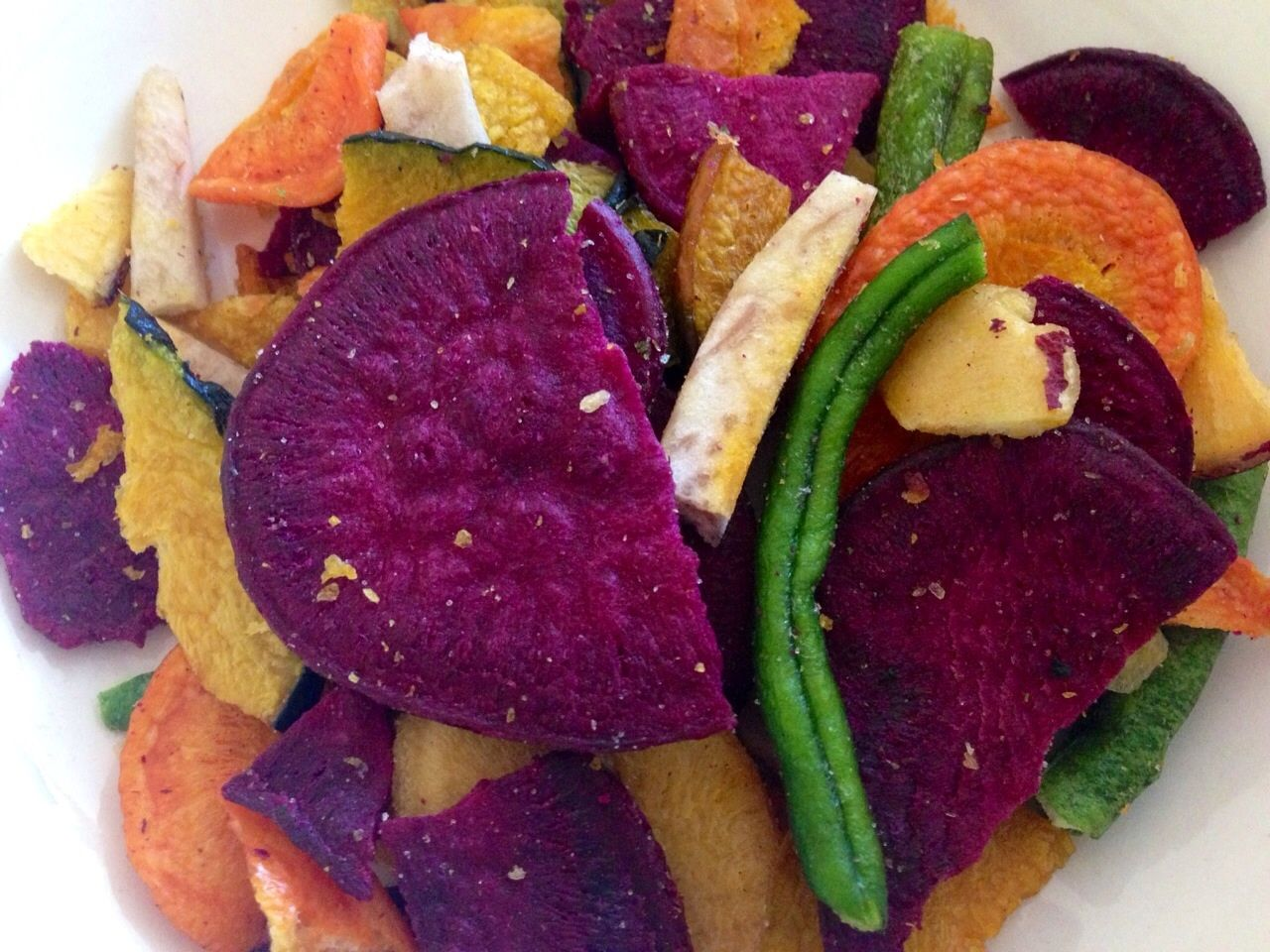 Dried Vegetable Baked Chips Another Favorite