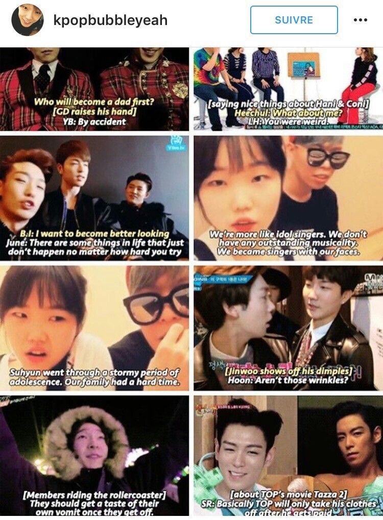 Yg Idols Being Savage Lmao How To Look Better Kpop Funny Yg Entertainment