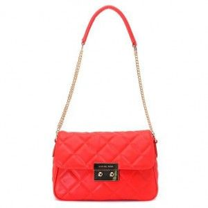 red mk bag