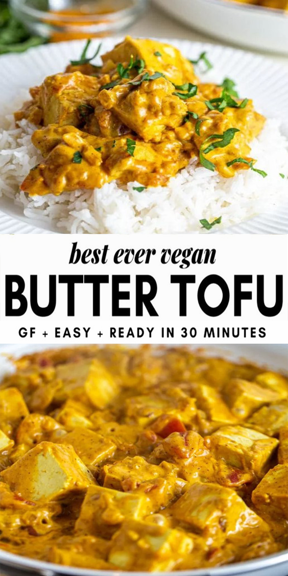 "Photo of Easy Vegan Butter ""Chicken"" 