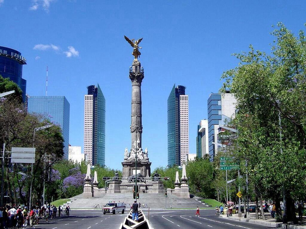 Ángel de la Independencia, Ciudad de México  www.SitiosDeMexico.com