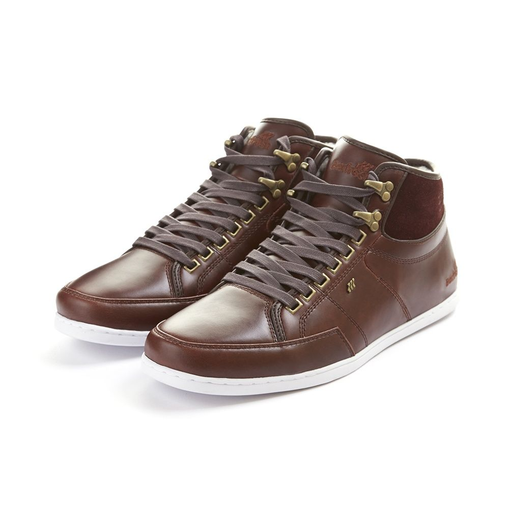 Boxfresh Swapp 3 Premium Winter Hi Top Sneaker | Mens smart