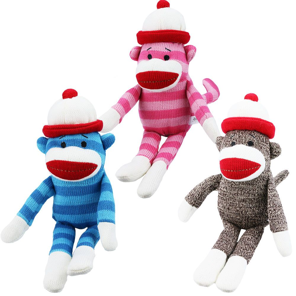 Sock Monkey Dog Toy at The Animal Rescue Site (With images