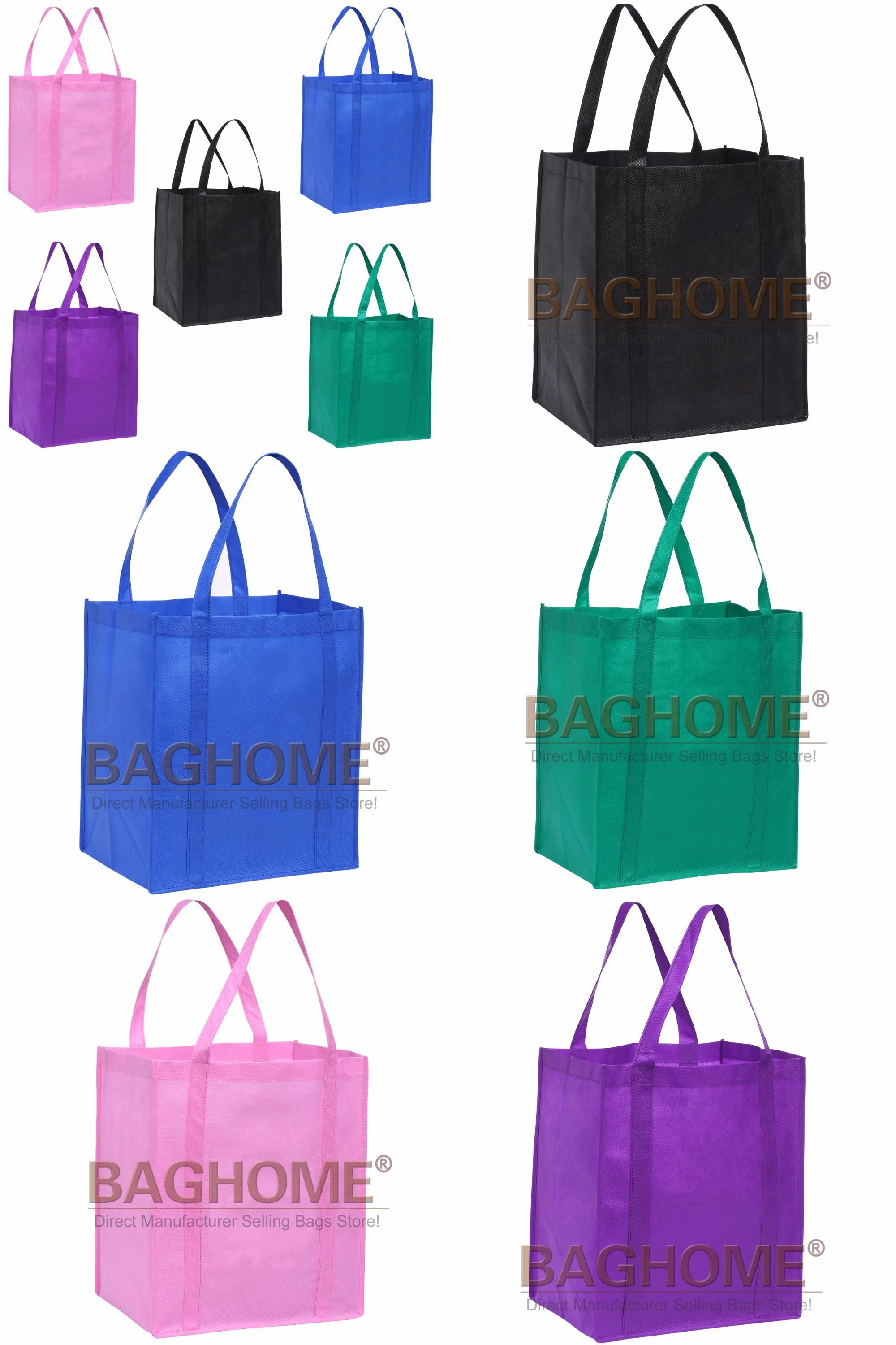 21c41c549597  Visit to Buy  Cheap Wholesale 5pcs lot Reusable Grocery Tote Shopping Bags