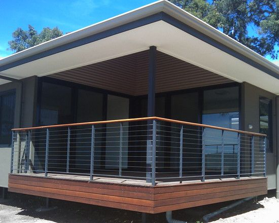 Best Natural Modern Home At The Hillside Alluring Deck Of 400 x 300
