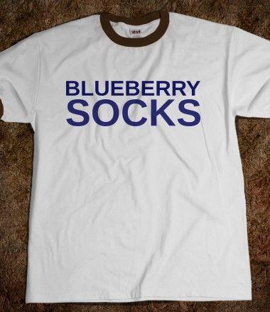 Blueberry Sock Penny Tee