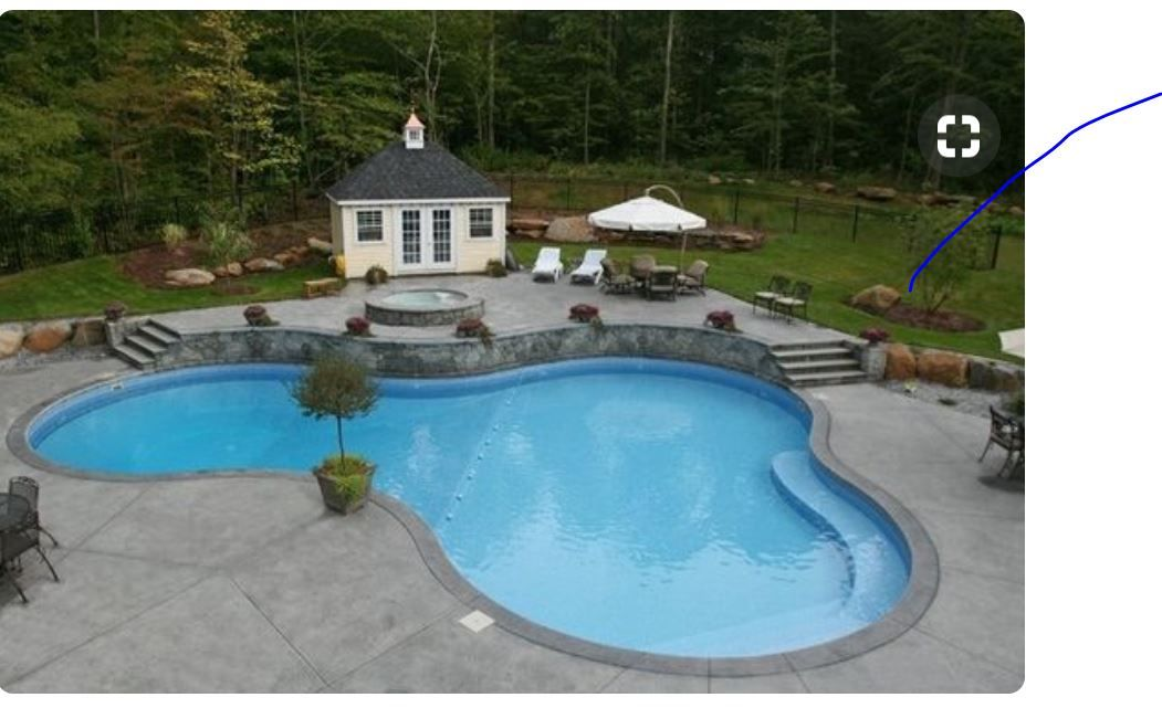 Like the size of this pool | Cool swimming pools, Backyard ...