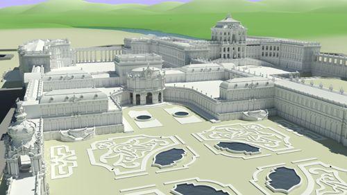 Zamok Zwinger V Drazdanoch Architektur Bilder Dresden