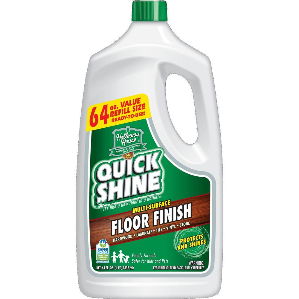 Quick Shine 64 Oz Floor Finish Projects Floor Finishes