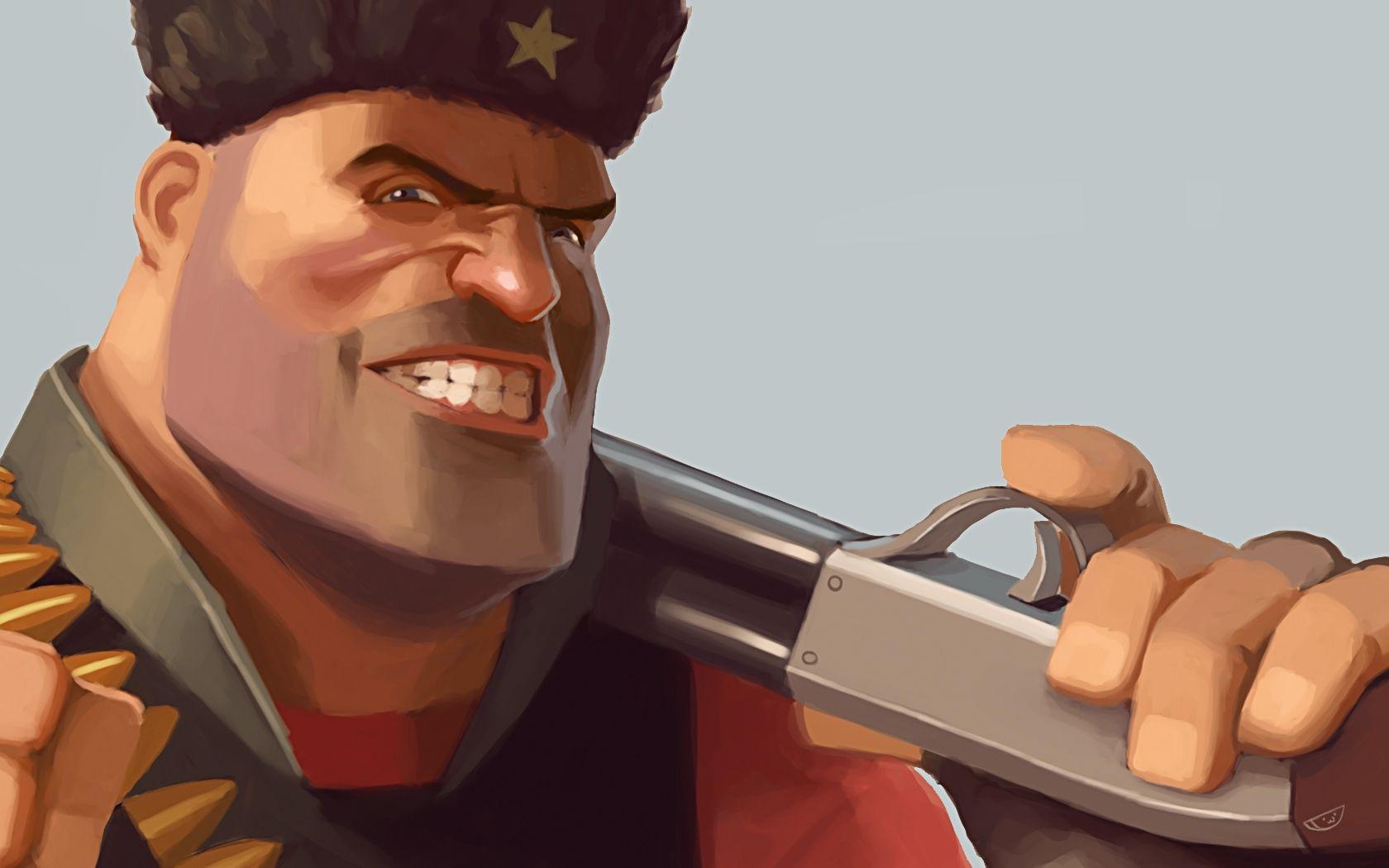 Heavy Tf2 Team Fortress 2 1680x1050 Wallpaper Team Fortress 2 Team Fortress Digital Artist
