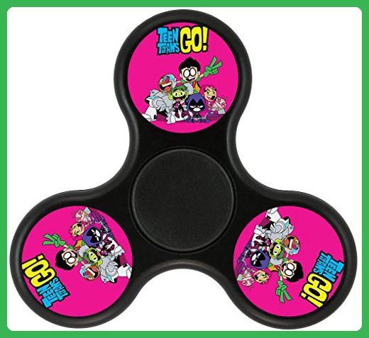 TG Teen Titans Fidget Spinner, Fashion Design and Images Tri-Hands Toy - Fidget spinner (*Amazon Partner-Link)