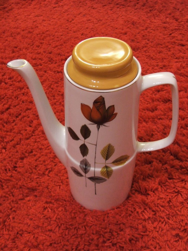 Hostess Tableware 1960'/70's British Anchor Coffee Pot in