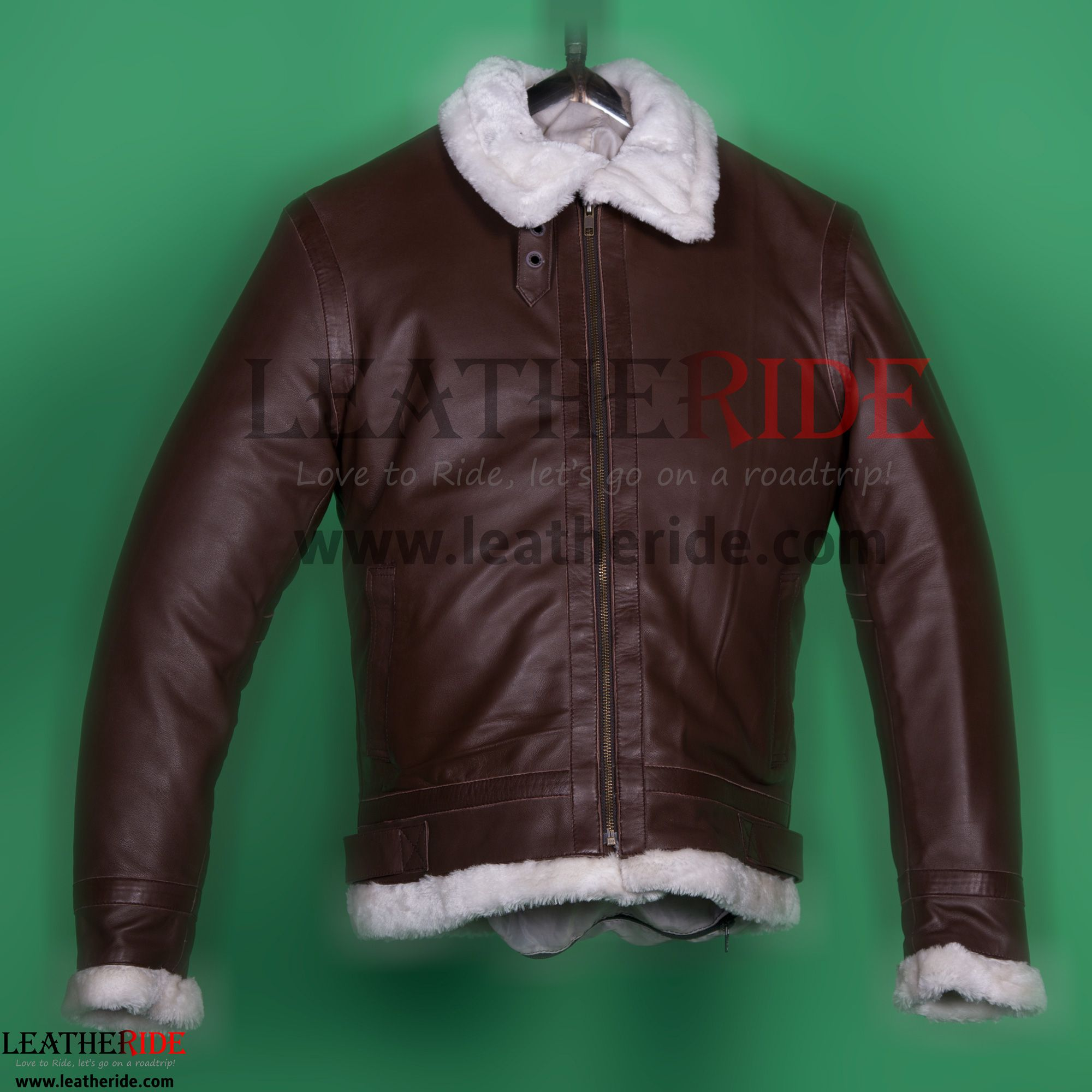 Fur Lined Leather Brown Jacket Brown jacket, Jackets