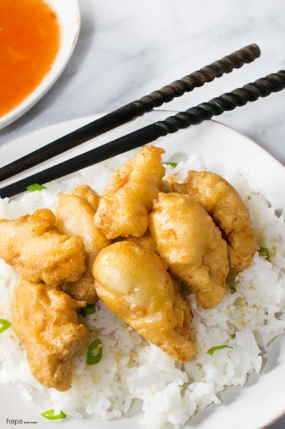 Create crispy Sweet and Sour Chicken in less time than it takes to get take-out. No bottled sauce here!